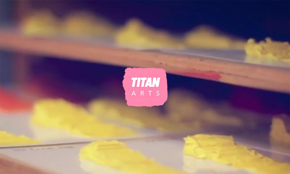 Titan Arts Branding