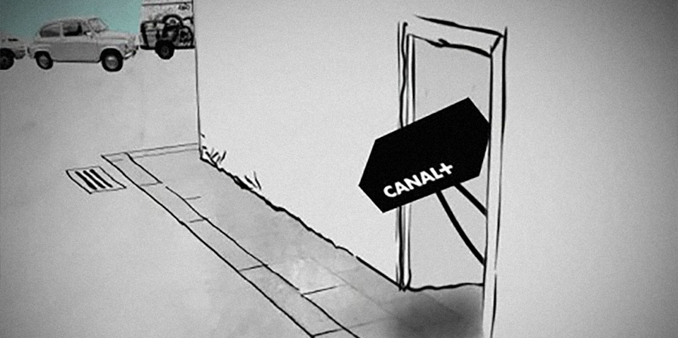 Canal + Sale a la calle
